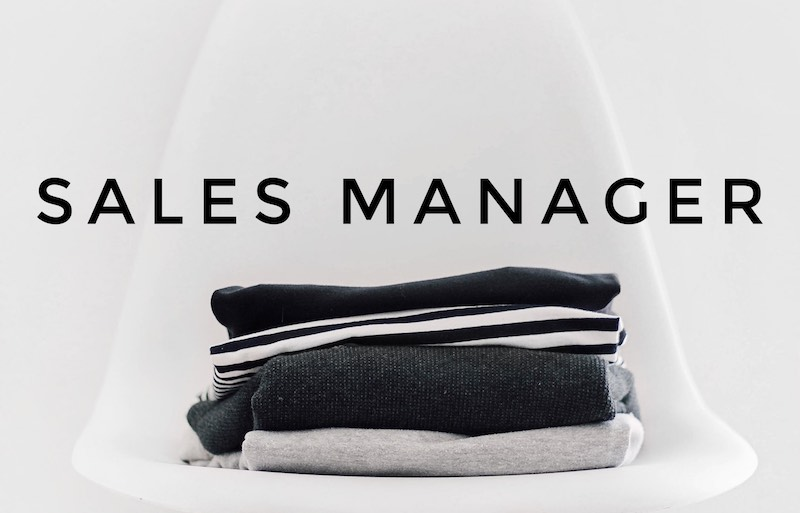 SALES MANAGER 262342